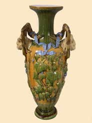 early vase from the Minton factory