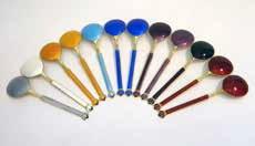 Set of Art Deco spoons