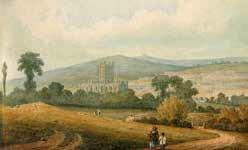 A view of Bath, circa 1800