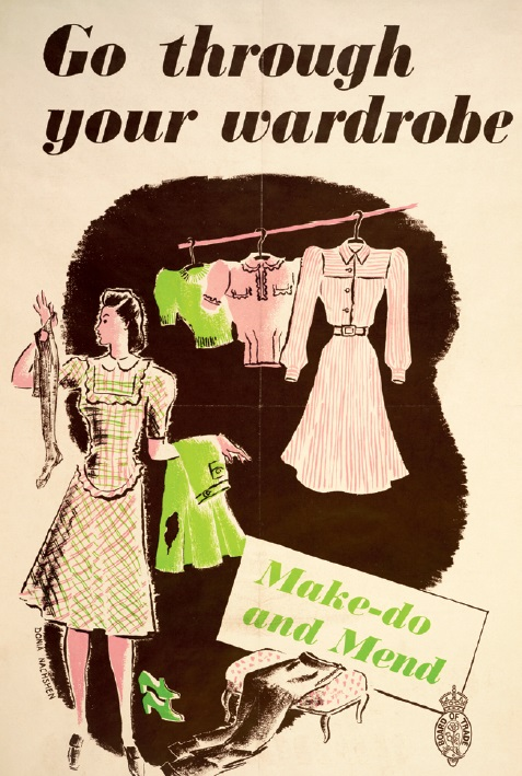 Go Through Your Wardrobe poster © IWM
