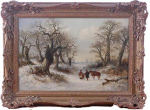 oil on canvas by Thomas Smythe