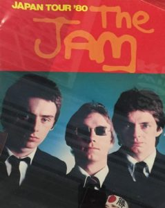 Japanese tour poster of The Jam