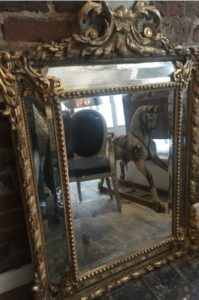 A 19th century marginal mirror