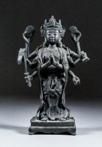 bronze-figure-of-zhunti-ousa-11500