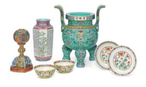 Selection of Chinese ceramics