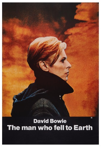 David Bowie The Man Who Fell to Earth film poster