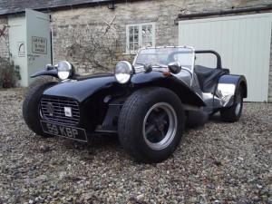 A 1963 Lotus Super Seven S2