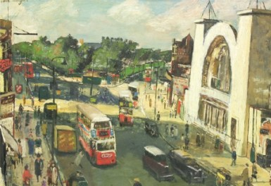 Carel Weight's Hammersmith Broadway