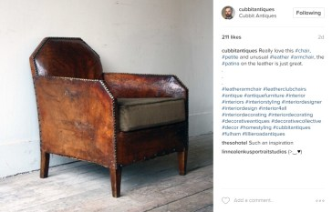 Instagram images from Cubitt Antiques