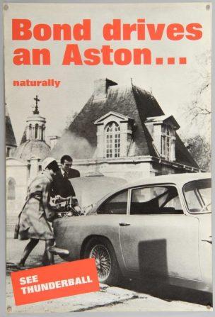 James Bond Thunderball poster