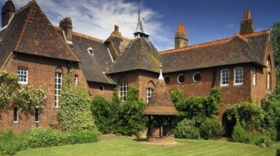 The Red House designed by Arts & Crafts architect Philip Webb