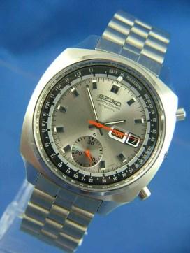 A vintage Seiko Chronograph watch