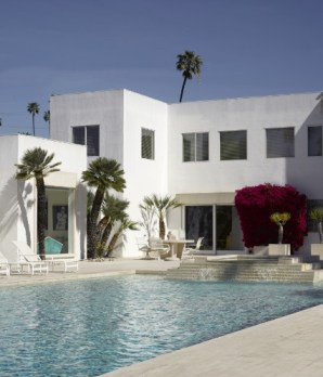 Jackie Collins' Beverly Hills' home