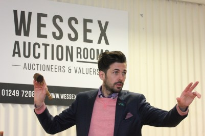 Tim Weeks of Wessex Auction Rooms
