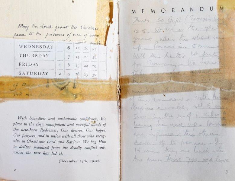 A prisoner of war diary