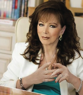 Best-selling author Jackie Collins