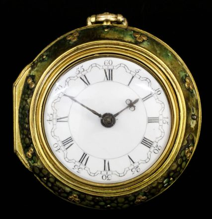 triple-cased verge pocket watch by John Cater of London