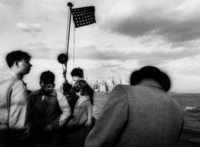 William Klein (b.1928) Staten Island Ferry, New York, 1955 Gelatin silver print, printed later, signed, titled and dated in pencil verso, 33.4 x 45.2cm (13 ¹/₈ x 17 ³/₄in)