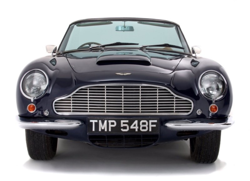 Aston Martin sold at Duke's auction house