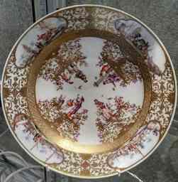 Meissen porcelain plate