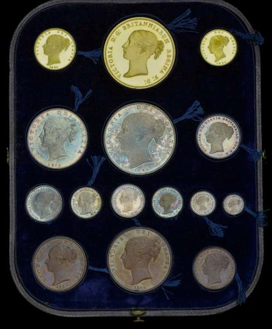Una and the Lion proof set coins