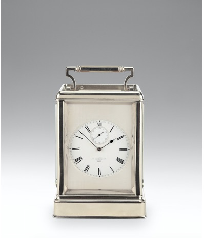 A second half of the century 19th century nickel cased eight-day chronometer timepiece by Dent (£18,000-25,000)