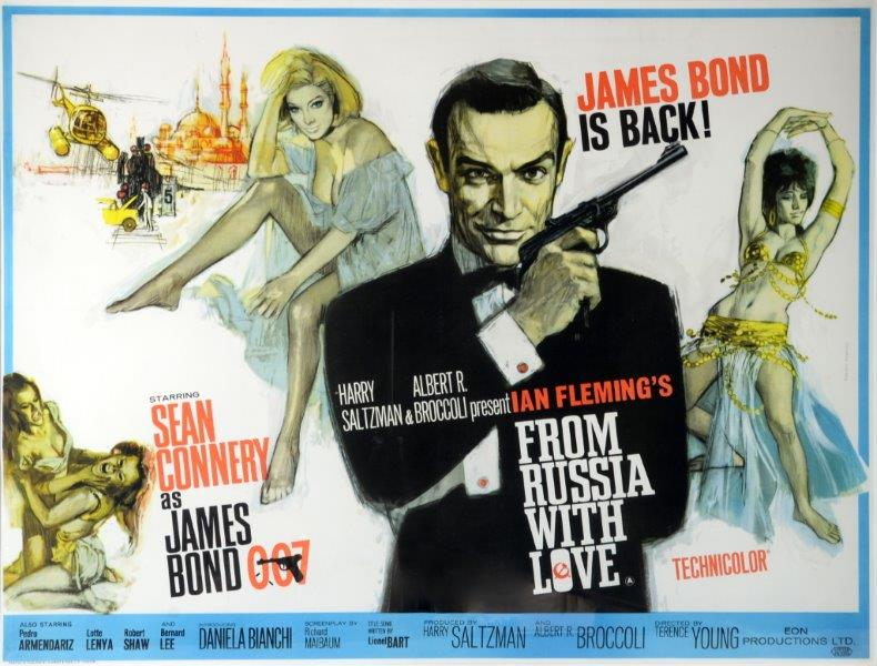 James Bond From Russia With Love poster