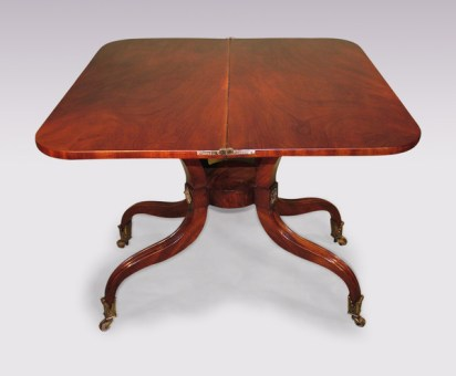 Antique Regency tea table