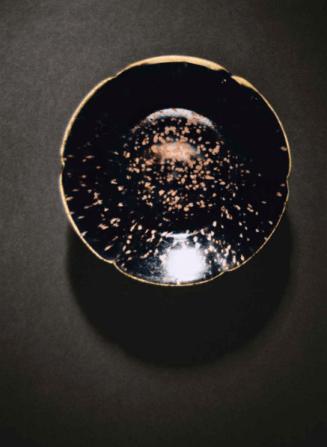 Chinese Black Gazed bowl