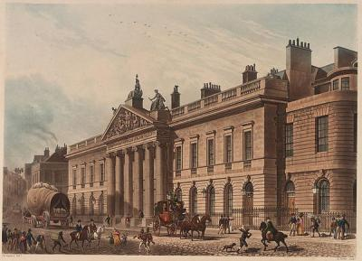 The headquarters of the East India Company
