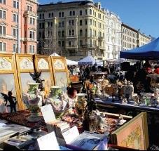 Vienna Flohmarkt am Naschmarkt