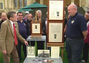 Collection of Wartime Pigeon Memorabilia