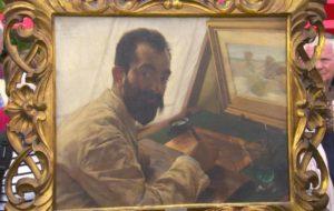 Sir Lawrence Alma Tadema portrait