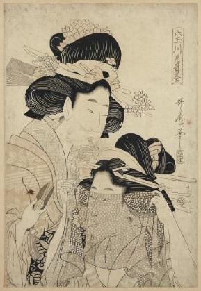 Claude Monet Japanese print