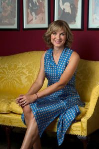 Fiona Bruce of the BBC Antiques Roadshow