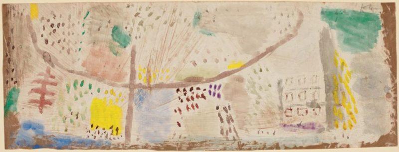 Paul Klee, Haus am Hügel (House on the Hill)
