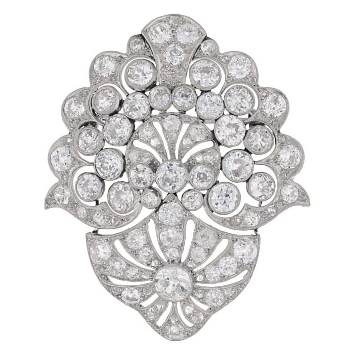 A similar diamond brooch available at Susannah Lovis