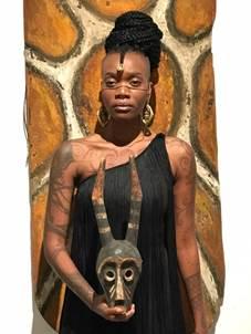 Model Laurence Sessou