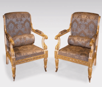 Antique Regency period chairs