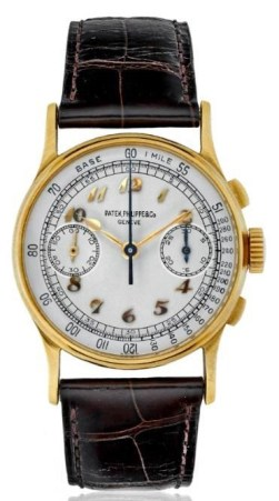 Joe DiMaggio Patek Phillipe wristwatch