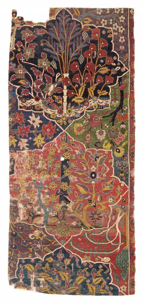 Fragment from the von Hirsch Garden Carpet, Northwest Persia, Estimate £80,000 - 120,000, Lot Sold £224,750
