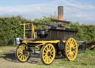 1896 Salvesen Steam Cart