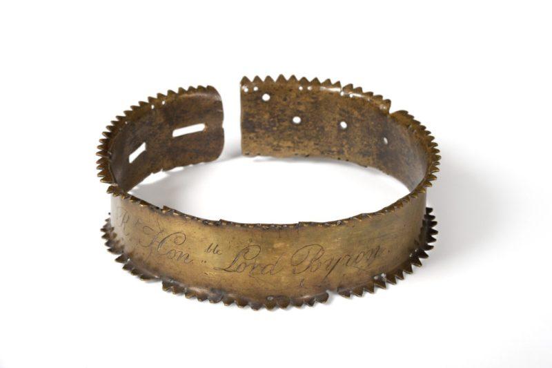 Byron's dog's collar