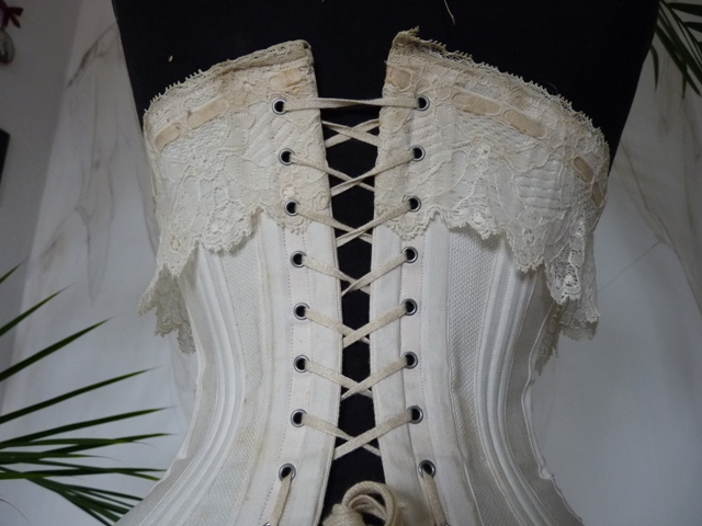 Italian Bridal Or Wedding Corset Ca 1905 Wwwantique