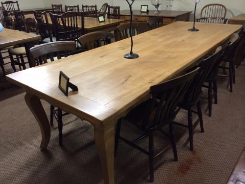 Antique Cherry Cabriole Leg Table Antique Farmhouse Table