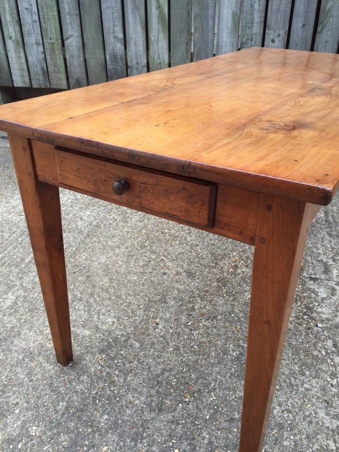 Cherry Antique French Farmhouse Table Antique Cherry