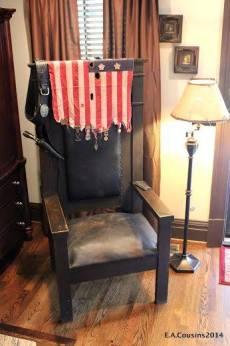 mw - masonic chair, antique archaeology, american pickers, masonic lodge history, robert's western world