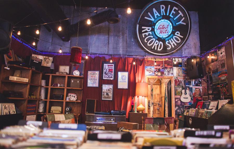 Variety Record Shop Columbia Tn