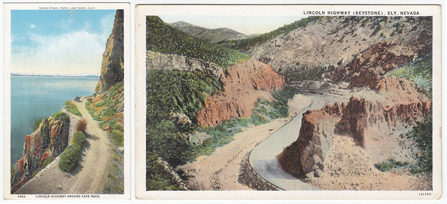 lincoln highway old photos