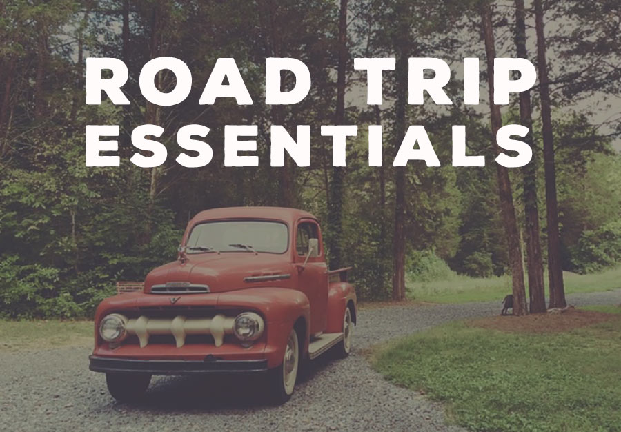 Road trip supplies travel blog